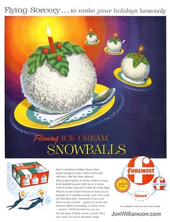 Foremost Flaming Ice Cream Snowballs - 19551128 Life