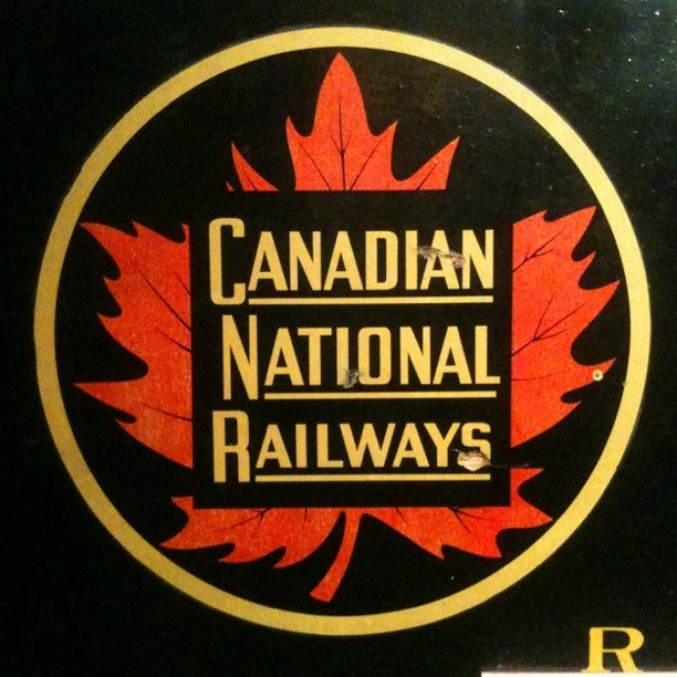 Canadian National Railways. I love this classic logo.