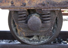 Rusted Train wheels