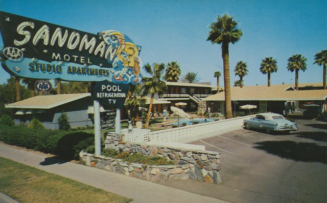 Sandman Motel - Phoenix  Arizona