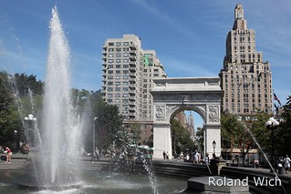 New York - Washington Square Arch