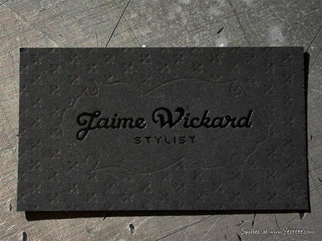 Jaime Wickard's Business Card