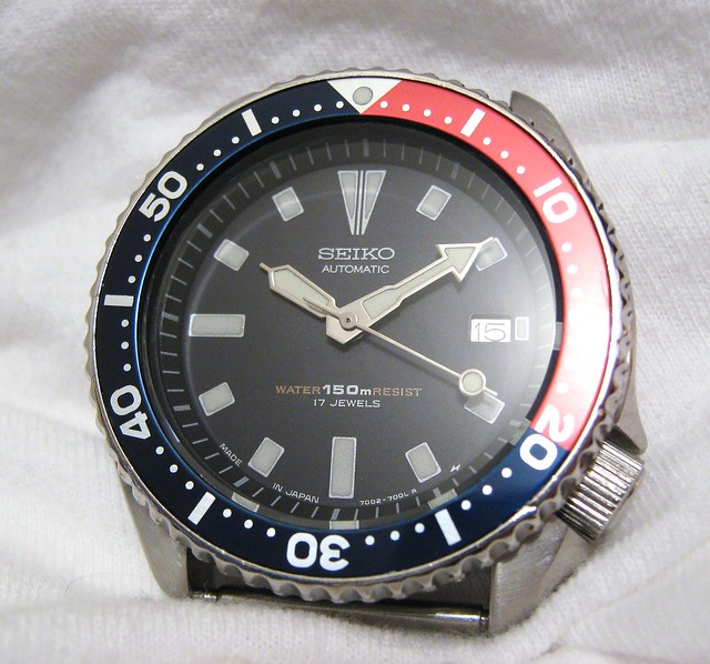 Sold seiko auto diver 150 shipped for Crown motors tallahassee fl