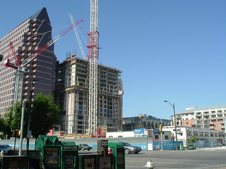density under construction in Austin (by: Tim Patterson, creative commons)