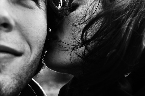 Harald Lorenz // Halography ℓσσρsεη SEA OF LOVE it whisper kiss black and white love photo blog
