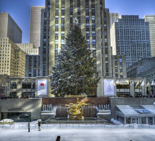 Christmas at Rockefeller
