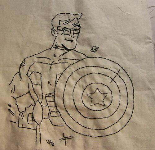 Stephen Colbert Superhero