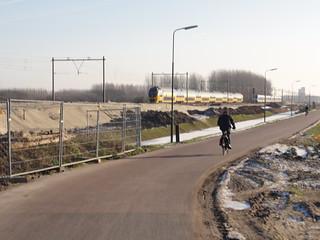 A bike road