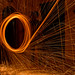 Spinning Steel Wool
