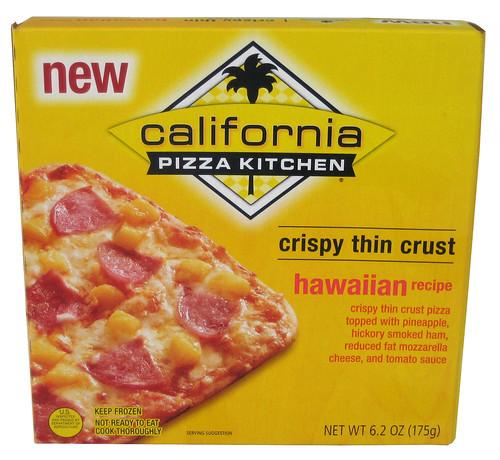 Review California Pizza Kitchen Hawaiian Recipe Frozen Personal Pizza The Impulsive Buy