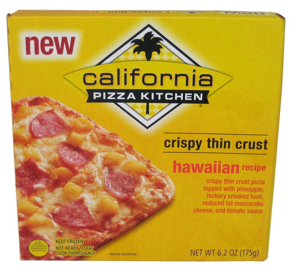California Pizza Kitchen Hawaiian Recipe Crispy Thin Crust Flickr Photo Sharing