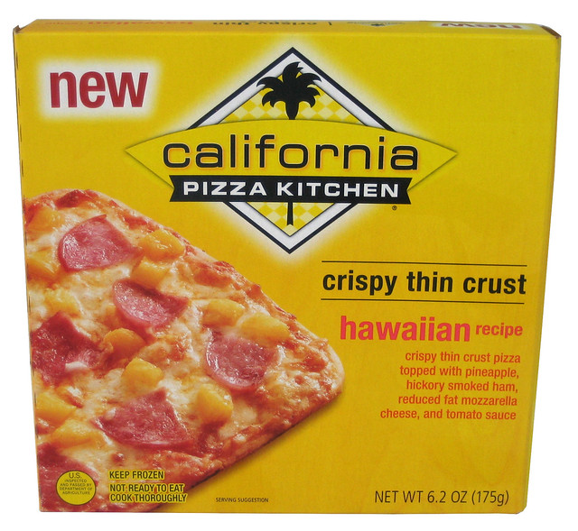 California Kitchen Frozen Pizza Nutrition Facts