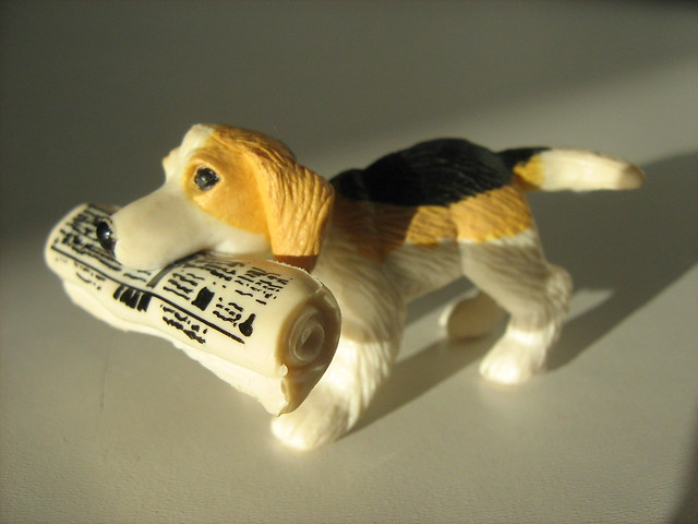 Fake Toy Dogs : Plastic toy dog beagle of flickr photo sharing