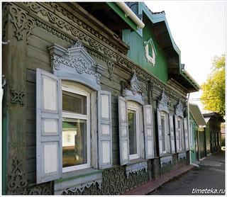Омск. Деревянный дом