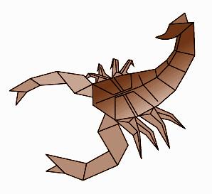 Diagrams A Gallery On Flickr Rh Com Robert J Lang Scorpion Diagram Origami