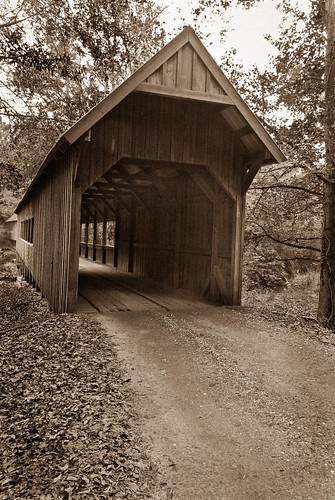 Twin Creek Covered Bridge