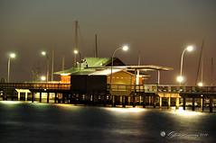 Fairhope Pier at night