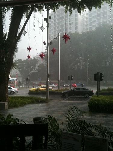 It's raining, it's pouring