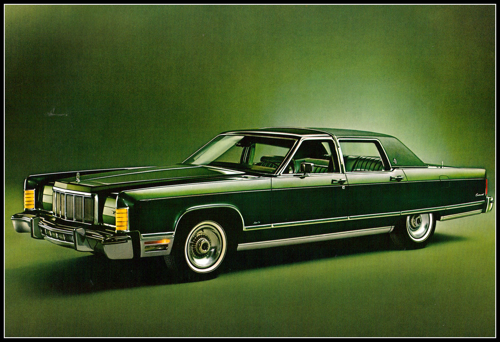 1976 lincoln town car 4 door jade green. Black Bedroom Furniture Sets. Home Design Ideas