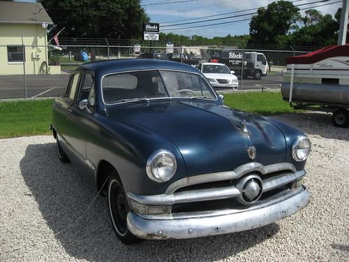 1950 ford 4 door orig flathead v8 jax fl 4500 for 1950 ford 4 door