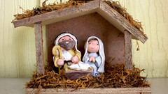 agriculture(0.0), picture frame(0.0), christmas decoration(0.0), manger(0.0), decor(1.0), wood(1.0), nativity scene(1.0),