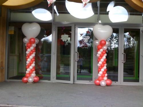 Ballonpilaar Slank Hart Heerlijkheid Hoogvliet Rotterdam