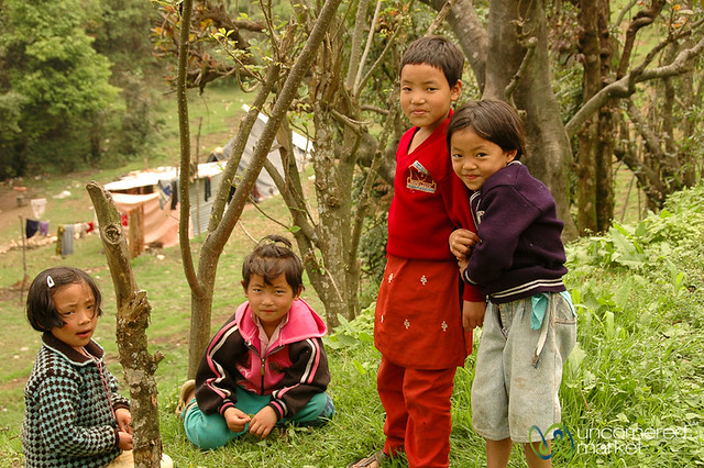 School Kids Outside of Pelling, Sikkim