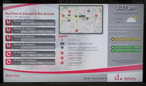 DDOT Multimodal Display