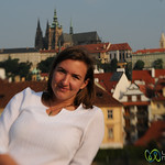 Audrey in Prague