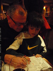 grandpa jeff helps nick complete a sports quiz   PC2…