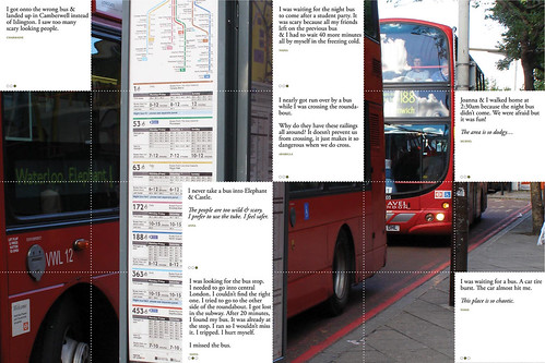Elephant & Castle : Bus Stop