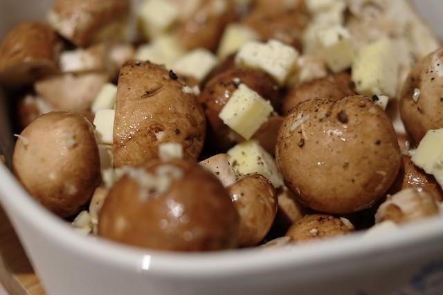 Garlic Butter Roasted Mushrooms | Flickr - Photo Sharing!