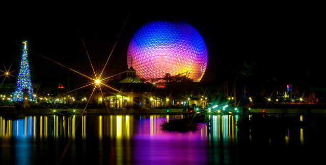 Spaceship Earth, reflected