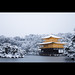 雪の金閣寺 Kinkakuji temple in snow