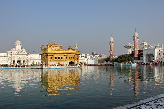 Harmandir Sahib (Golden Temple) complex