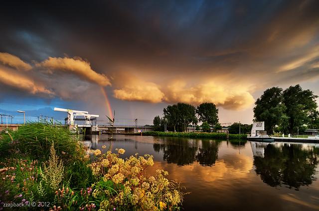 Run or shoot!? / Magical evening trilogy / part II / Rotterdam