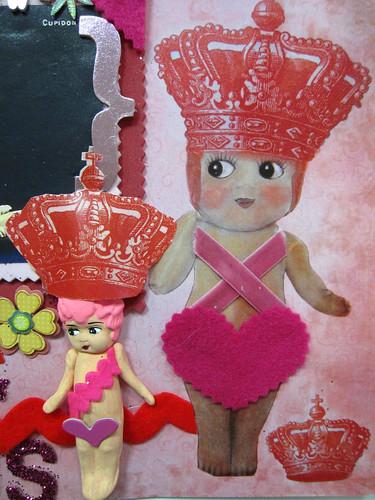 Circus Cupie Scrapbook Layout!