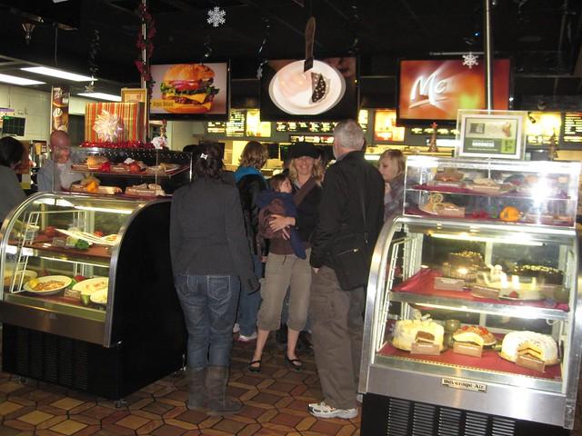 Eating at  World's Largest McDonald's - Orlando Florida