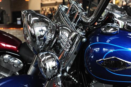 Harley Davidson Detail Pictures.