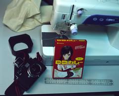 sewing, art,