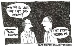 Job Interview Cartoon
