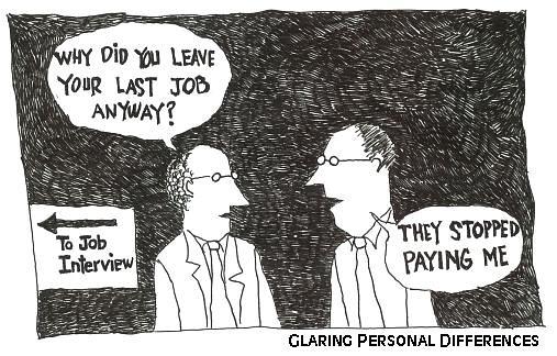 Job Interview Cartoon