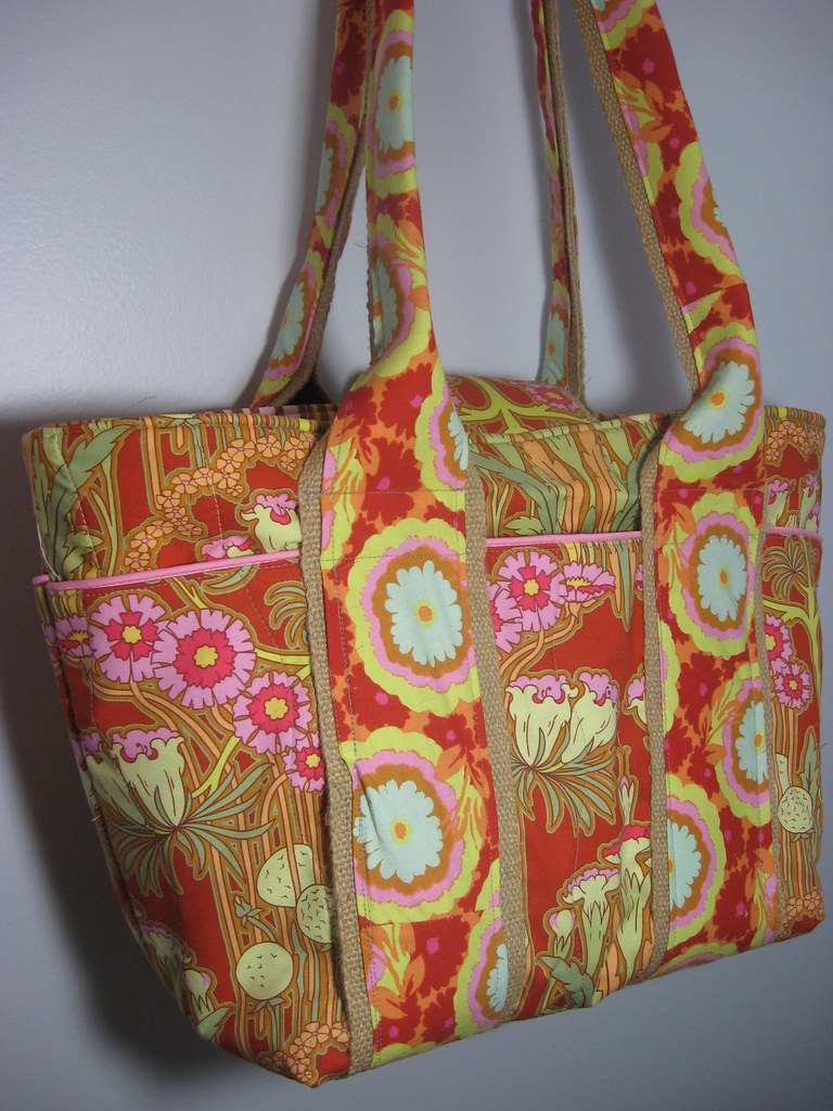 Extra Large Tote - Quilted Diaper Bag | Flickr - Photo Sharing!