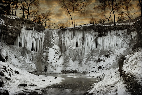 winter cold ice water minnesota creek frozen minneapolis falls waterfalls twincities mn minnehaha minnehahafalls songofhiawatha
