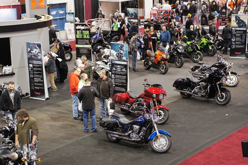 Vancouver Motorcycle Show 2011, Tradex Exhibition Centre, Abbotsford, BC