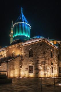 Mevlana Museum (Green Mausoleum), Konya