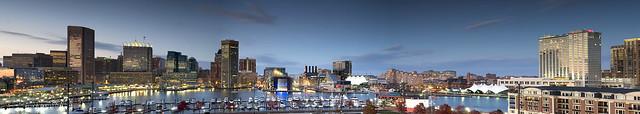 Inner Harbor, Baltimore Md.