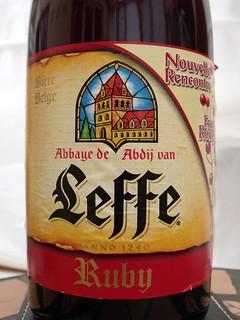 Leffe, Ruby, Belgium