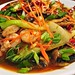 Small photo of Mmm...Szechuan noodles with shrimp and bok choy