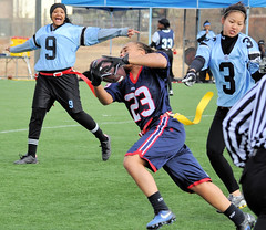 Flag football champs crowned